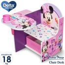 Online ONLY(海外取寄)/ ミニーマウス デルタ チェアーデスク 一体型 テーブル 机 子供用家具 子供部屋 Delta ディズニー