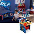 12月1日(ミッキー/アナ/スパイダーマン)入荷予約販売/ 机 子供 デスク ディズニー チェアーデスク 一体型 デルタ
