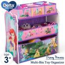 ポイント10倍/ 再入荷/ デルタ マルチ おもちゃ箱 オーガナイザー 子供 家具 収納 ディズニー (DM便不可)