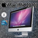 中古Apple iMac Mid 2010 MC508J/A 21.5inch Mac OS X 10.6 Snow Leopard Intel Core i3 3.06GHz メモリ4GB HDD500GB SuperDrive 無線LAN