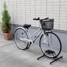 (在庫処分特価!)自転車置き場 スタンド 1台用 BYS-1 アイリスオーヤマ 収納  省スペース 自転車スタンド 家庭用 駐輪スタンド サイクルラック ラック