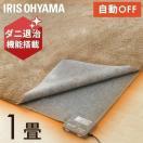(メガセール)ホットカーペット 1畳  ダニ退治 こたつ使用可能 電気カーペット 床暖房 冬用カーペット 電気マット ホットマット IHC-10-H アイリスオーヤマ