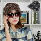 帽子 サマーレース帽 サマーレースキャップ ワッチキャップ ネックガード ビーニー 医療用帽子 薄手 花柄 刺繍 レディース 女性用 おしゃれ かわい