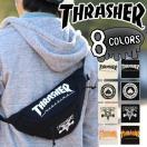 THRASHER スラッシャー ウエストバッグ 送料無料 ボディバッグ ウエストポーチ スポーツ キャンバス THC200 thrasher-039