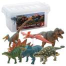 玩具 恐竜 フィギュア ティラノサウルス トリケラトプス ギフト 誕生日プレゼント DINOSAUR SOFTMODEL 恐竜 ダイナソーソフトモデルセットA FDW-101