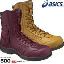 限定色 アシックス asics 安全靴 ウィンジョブ 500 FIS500 編み上げ 作業靴 スニーカー 半長靴 ブーツ(送料無料)