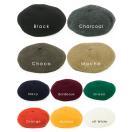 ゆったりバスク ベレー帽 57cm-61cm 商品名 ゆったりバスクベレー 帽子 レディース 大きいサイズ ベレー帽 秋冬 秋 冬 フェルト 大きめ 可愛い