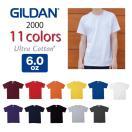 無地Tシャツ無地/ギルダンGILDAN/6.0ozウルトラコットン半袖Tシャツ/メンズ/カラー