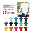 Tシャツ無地【最安値に挑戦】グリマーGLIMMER/半袖無地/3.5ozインターロックドライTシャツ/メンズ