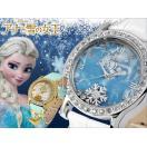 ミッキー 腕時計 ディズニー プリンセスエルサ アナと雪の女王 革 ハート アウトレット disney_y