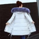 ロングコート レディース ファー ロング丈 中綿ジャケット スプリングコート フード付き ダウンコート アウター 秋 冬 防寒 防風 おしゃれ
