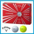 ☆即納☆日本正規品☆2016年 キャロウェイ クロム ソフト ゴルフボール 1ダース(12個入)CHROME SOFT