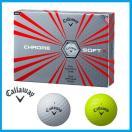 ☆日本正規品☆キャロウェイ クロムソフト X  CHROME SOFT X 1ダース(12個入り)ゴルフボール