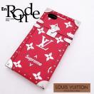 ルイ・ヴィトン LOUISVUITTON モノグラム アクセサリー iPhone7ケース シュプリーム レッド 中古 新入荷 おすすめ LV0445