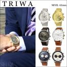 トリワ/TRIWA NEVIL 時計 レザー メッシュ42mm ウォッチ/ユニセックス