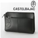 カステルバジャック CASTELBAJAC メンズセカンドバッグ ワンファスナー /トリエ/ 164201