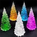 ライトアップミニツリー10個セット(クリスマスツリー)光るおもちゃ