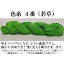 刺し子糸 【小鳥屋オリジナル】 (若草-色番号4)