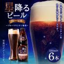 お酒 ビール コーヒー 送料無料 星降るビール コーヒー 330ml 6本 セット 同梱不可 グルメ