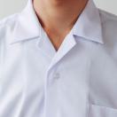 中学生 高校生 制服 半袖 開襟シャツ 形態安定 男子 A体 150A~195A