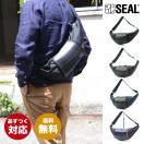 SEAL(シール)ショルダーバッグ/バナナショルダーバッグ NEW MODEL【seal バッグ/防水・耐水/廃タイヤ/タイヤチューブ/人気/日本製/メンズ/黒】【あすつく】