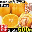 みかん 熊本三角産 ちびデコ 2.5kg 【数量限定】【アンコール販売】