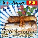 国産イワシの生姜煮 30g×5本入り ポイント 消化 冷凍食品 簡単調理 いわし 鰯