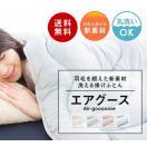 洗える掛布団 エアグース シングル 150×210cm 送料無料 日本テレビ 女神のマルシェで紹介 ご家庭の洗濯機で丸洗い出来る布団 エアグース