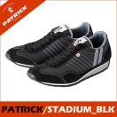 PATRICK パトリック日本製 SUTADIUM スタジアム BLK ブラックメンズ  レディース スニーカースタジアム SUTADIUM_BLK