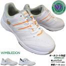 ウィンブルドン WIMBLEDON WL-3500 4E 幅広 ワイド レディース テニスシューズ  紐靴 合成皮革 オールコート対応 KV72101 KV72102 アサヒシューズ