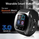 スマートウォッチ 腕時計 Bluetooth ウェアラブル 多機能 ハンズフリー通話 音楽プレーヤー 着信知らせ 電話番号表示 置き忘れ防止 ◇M26