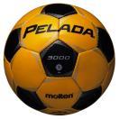 モルテン(Molten)サッカーボール/ペレーダ3000/5号/イエロー×ブラック/F5P3000YK