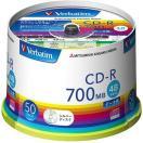 バーベイタム CD-R データ用 1回記録用 700MB 48倍速 SR80FC50V1 ( 50枚入 )/ バーベイタム