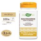 ナイアシンアミド ビタミンB-3 500mg 100カ...