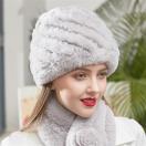 レディース ファー帽子 ファー素材 耳保暖 あったか人気帽 MT482