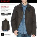 リプレイ REPLAY ジャケット ショートコート M8990 81216 ブラウン アウター RP40002