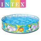INTEX ハッピーアニマルクリアビュースナップセットプール インテックス HAPPY ANIMALS CLEARVIEW SNAPSET POOL ME-1701 58474NP 122cm×25cm