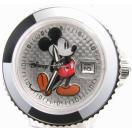 即納可 ディズニー 腕時計 D91084SVCL ミッキーマウス クリアベルト 在庫限り大特価