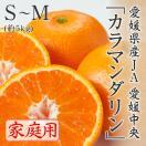 カラマンダリン 愛媛県産 JAえひめ中央 家庭用 S〜M 5kg 4月中旬より発送 母の日ギフト