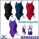 送料無料N2MA6222MIZUNO(ミズノ)レディース競泳用水着StreamAqucelaソニックフィットACミディアムカット競泳水着/女性用/FINA承認