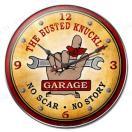 取寄品  ガレージ クロック BUSTED KNUCKLE GARAGE BUST-046 インテリア アンティーク ガレージクロック 時計