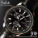 メンズ腕時計 腕時計 メンズ おしゃれ ブラック スタイリッシュデザイン ビッグフェイス仕様 ベルト 時計 アンティーク 格安 tvs266