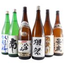 日本酒 飲み比べセット 一升瓶 6本 臥龍梅、南、八海山、獺祭、楯野川、越乃景虎 1800ml 送料無料