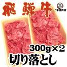 飛騨牛 切り落とし 300g×2p 計600g 焼しゃぶ すき焼き 牛丼 肉じゃが ...