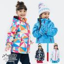 17-18 PHENIX〔フェニックス ジュニアスキーウェア〕<2018>Snow Crystal Girl's Two-Piece PS7H22P90【上下セット】【OKI】