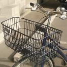 自転車かご 超ワイドな自転車カゴ デカーゴ 通勤 通学 お買い物に便利 ビジネスバッグ 買い物袋がちゃんと入る 自転車 かご 前 カゴ ワイド 大きい 大きな