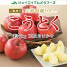 りんご 訳あり こうとく リンゴ 約5kg ご自宅用 山形県産 林檎 山形 (一部地域別途送料)