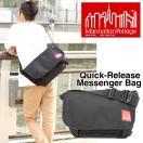 マンハッタンポーテージ Manhattan Portage Quick Release Messenger Bag クイックリリース メッセンジャー バッグ 1642 黒 バック カバン 鞄 ショルダー