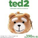 メール便OK TED2 テッド2 コラボ ファーポーチ サンキューマート//03