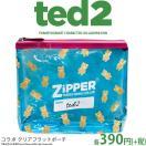 メール便OK TED2 テッド2 コラボ ZIPPERバッグ サンキューマート//10